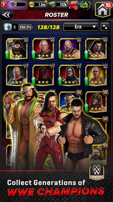 Download WWE Champions - Puzzle Game for Pc
