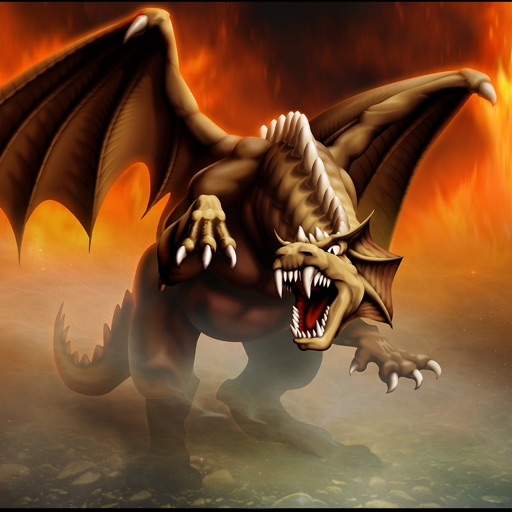 Война драконов 3D - небо атака
