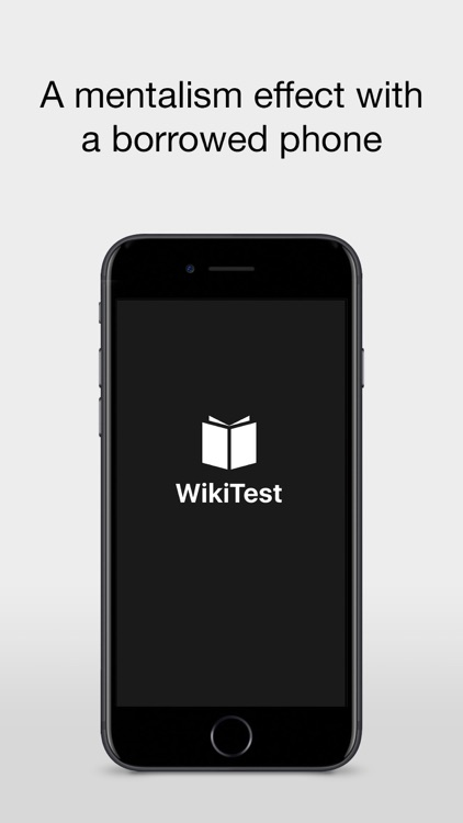 WikiTest - The Wiki Book Test