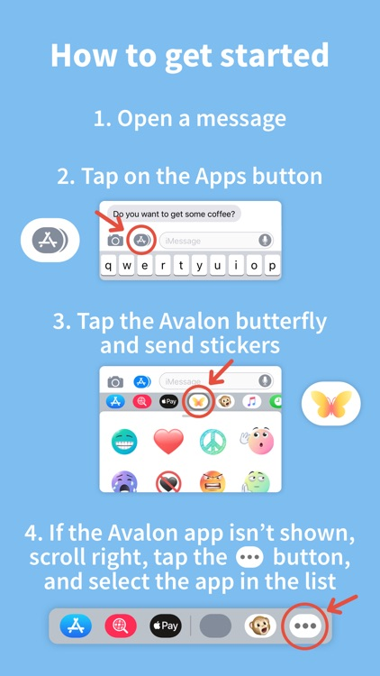 Avalon Stickers screenshot-5