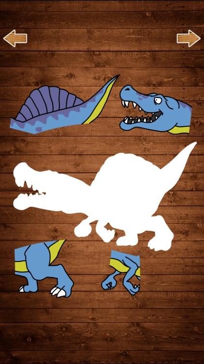 恐龙拼图游戏 - 恐龙乐园拼图世界游戏