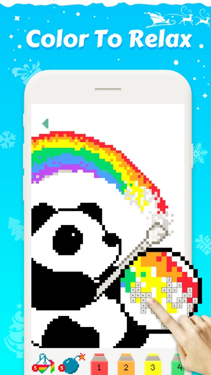 Pixel Coloring Book Game By Magic Arts