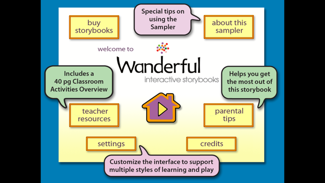 ‎Wanderful Storybooks Screenshot