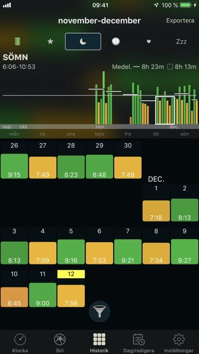 Screenshot for AutoSleep spårare för Watch in Sweden App Store