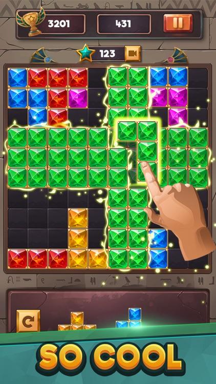 Puzzle Game : Block Jewels screenshot-3