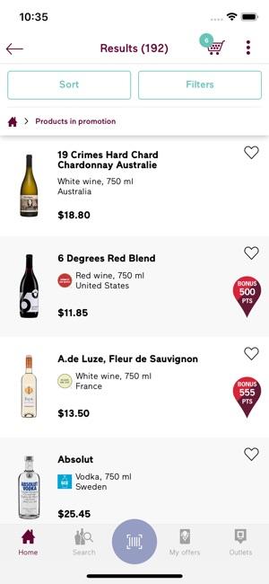 Societe Des Alcools Du Quebec On The App Store