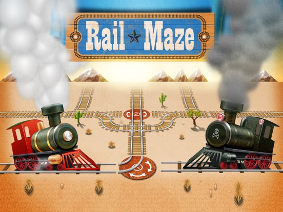 Игра Rail Maze : Паровозики