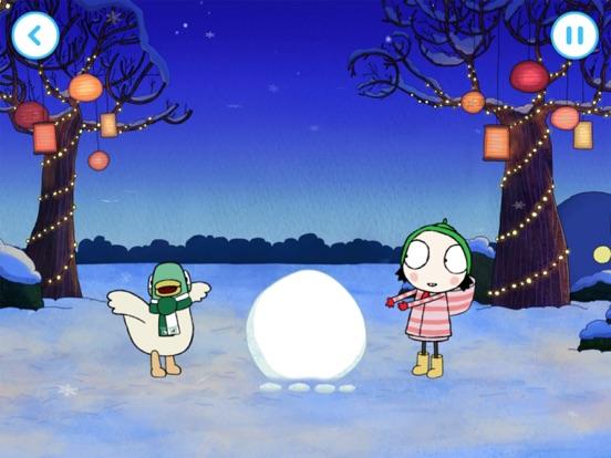 Sarah & Duck: Build a Snowman screenshot 6