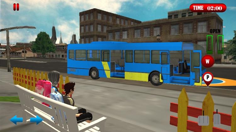 School Bus Simulator Game 2017 screenshot-4