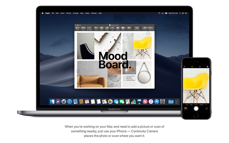 macOS Mojave Screenshot
