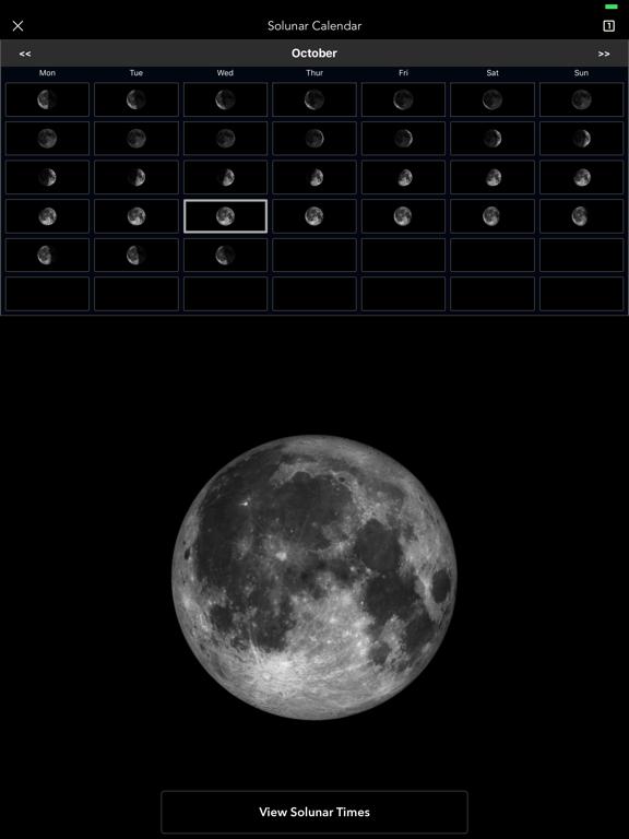 Moon Phase Calendar Pro screenshot 4