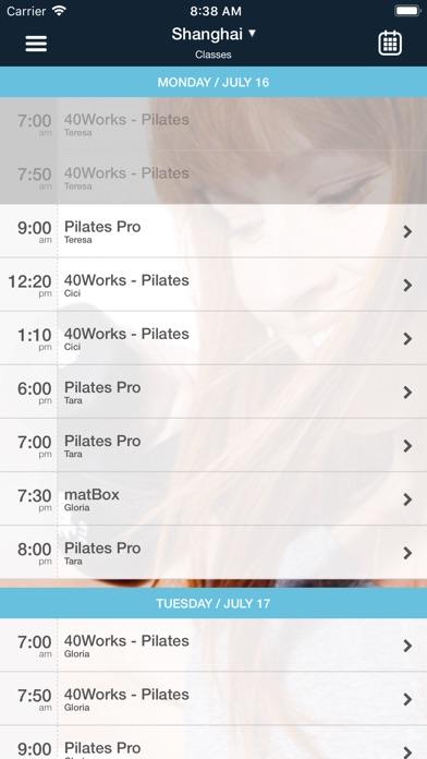 Pilates ProWorks Screenshot
