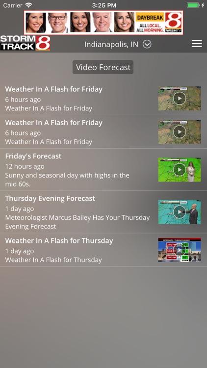 WISH-TV Weather - Indianapolis screenshot-4