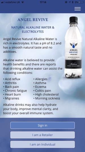 alkaline water bottle uk