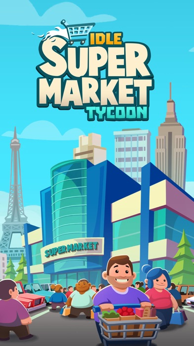 Screenshot for Idle Supermarket Tycoon - Shop in Azerbaijan App Store