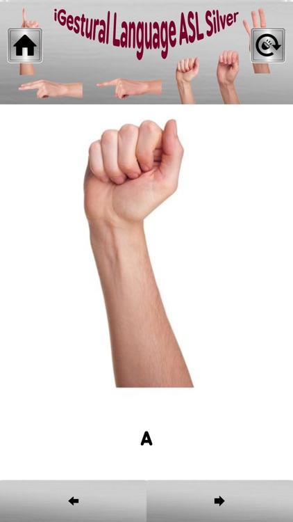 iGestural Lang ASL Silver Lite screenshot-4