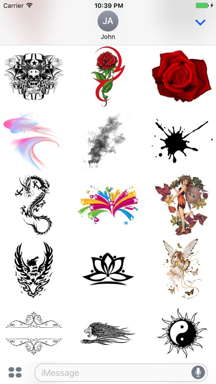 Artistic Stickers Pack