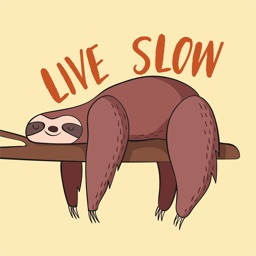 Sloth Emoji and Stickers