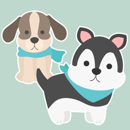 Dogs and Puppies Stickers pack
