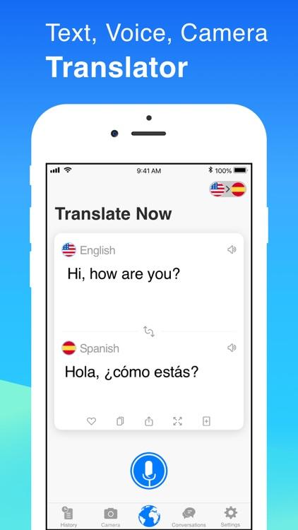 Translate Now - Translator screenshot-0