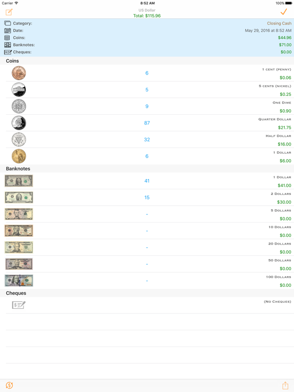 MoneyList Screenshots