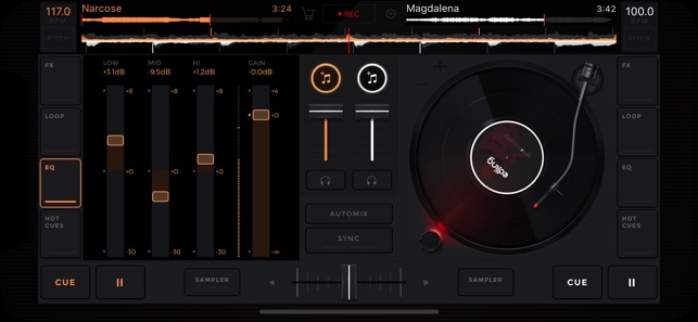 edjing mix platine dj music