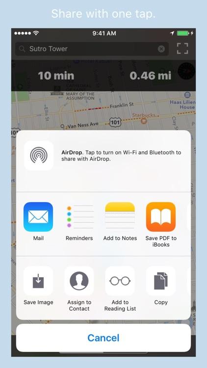 RouteBreak | Fast Navigation screenshot-4