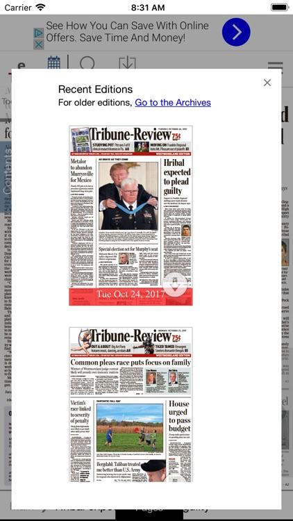 Tribune-Review eTrib screenshot-3