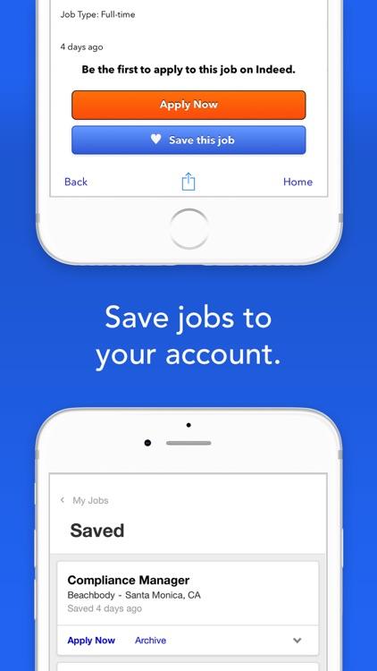 Indeed Job Search screenshot-4