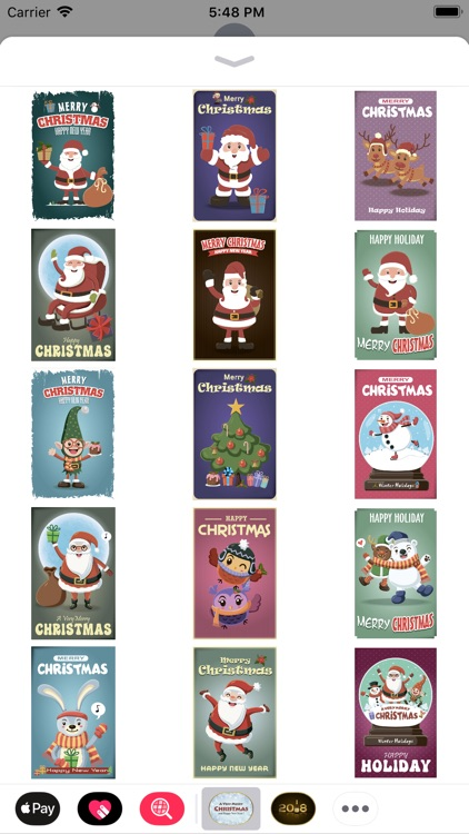 Christmas Cards for imessage! screenshot-4