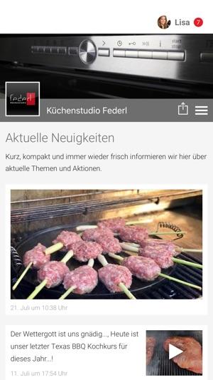 Kuchenstudio Federl Im App Store