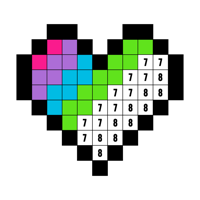 数字で塗り絵:ぬりえ帳 (Color by Number)