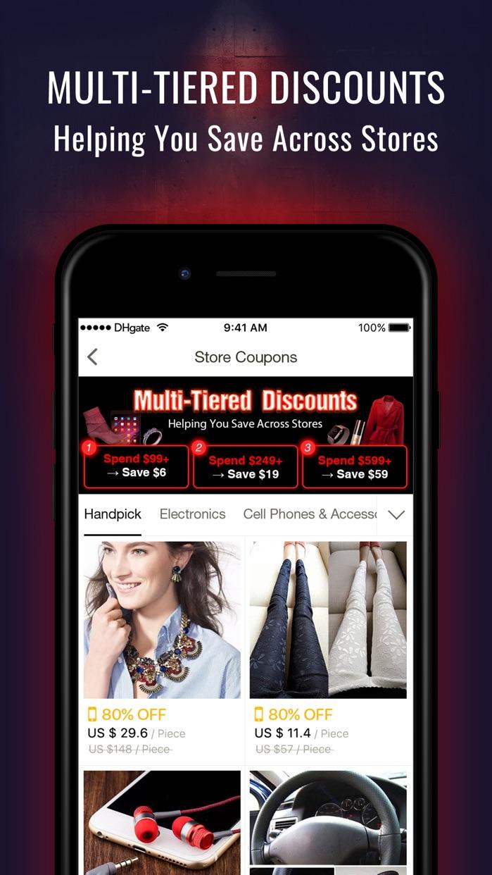 DHgate- Shop smart Screenshot