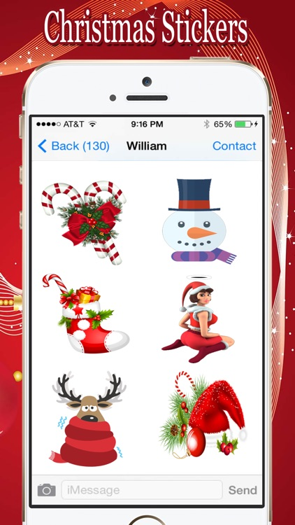 Christmas Awesome Stickers screenshot-3