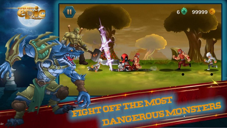 Super heroes Epic Battle screenshot-3