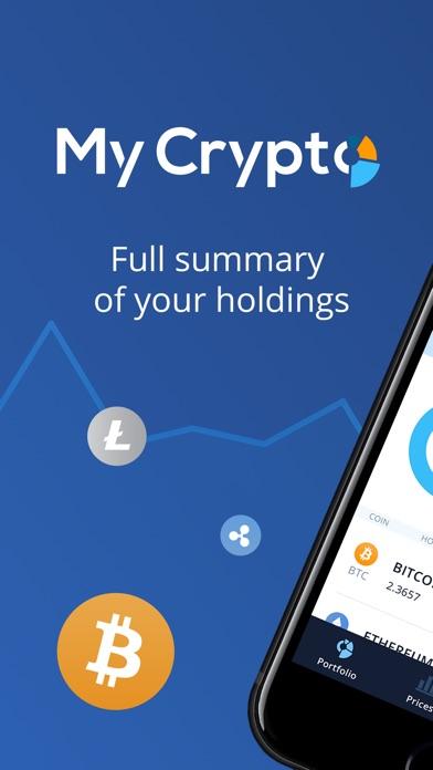 MyCrypto - Crypto Portfolio Screenshots