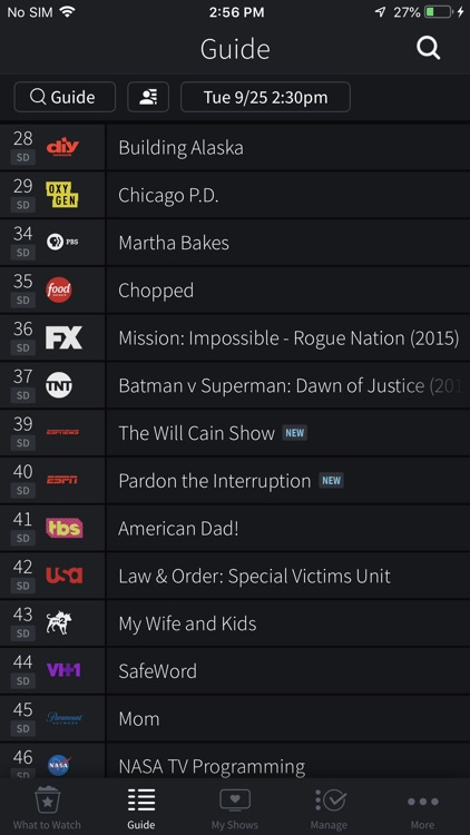 TiVo screenshot-1