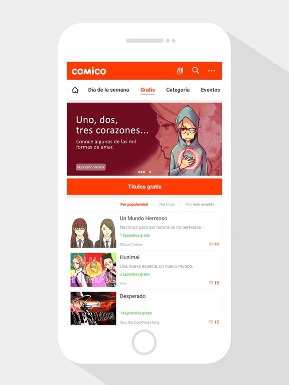 COMICO  - La mejor aplicación screenshot 8