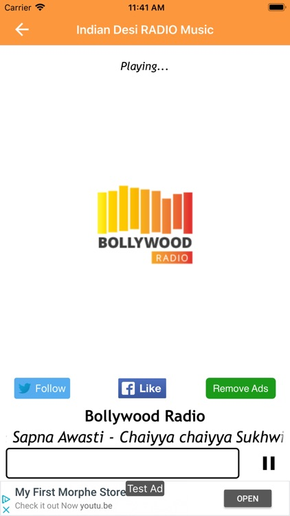 Indian Desi RADIO Music screenshot-3