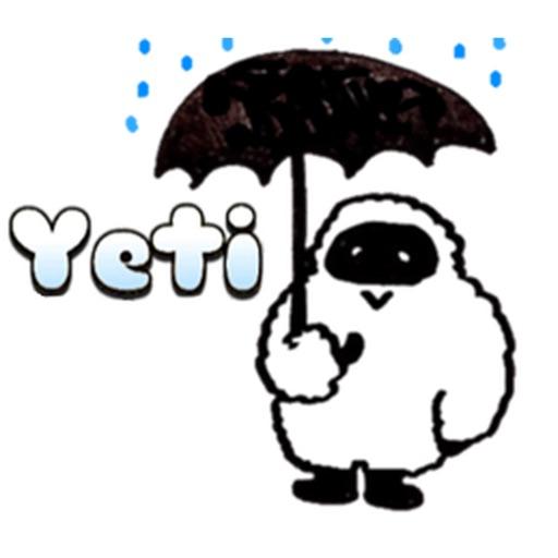 Yetimoji - Yeti Emoji Sticker