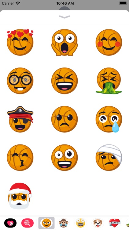 Basketball Pack by EmojiOne screenshot-3