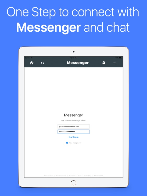 Auto Lock for FB Messenger