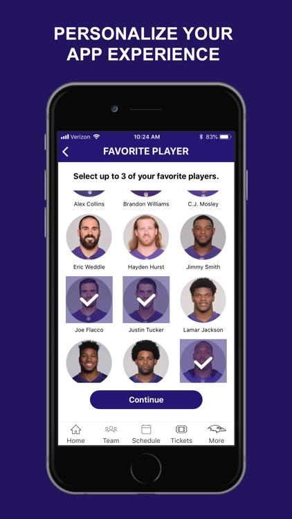 Baltimore Ravens Mobile screenshot-6