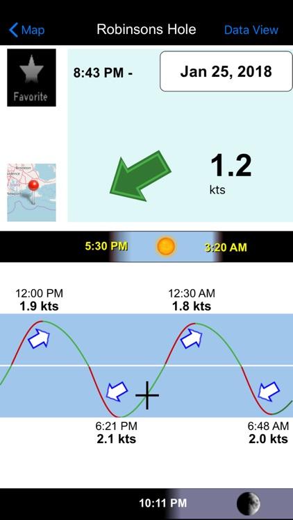 Real Tides & Currents Chart HD screenshot-3