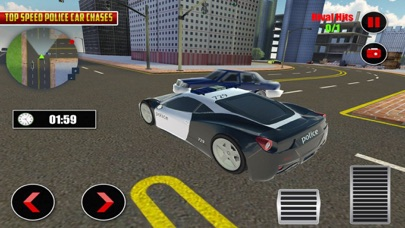 Police Car Chase Street Racers screenshot three
