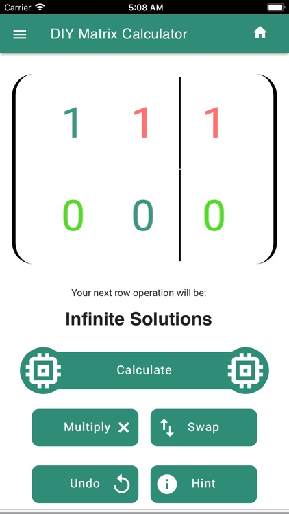 DIY Matrix Calculator screenshot-4