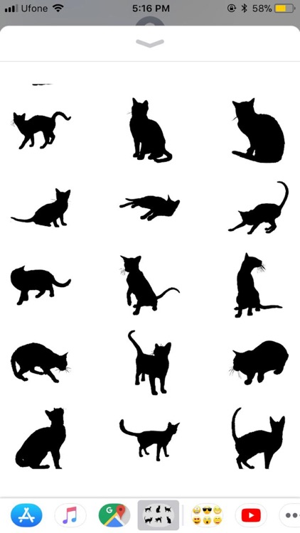 Black Cats Stickers screenshot-1