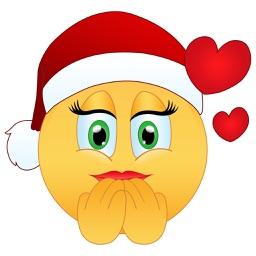 Flirty Christmas Emoji
