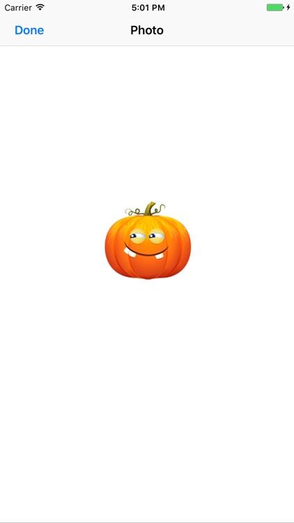 Funny Pumpkin - Animated Emoji