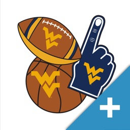 West Virginia Mountaineers PLUS Selfie Stickers